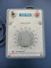General Radio Gr W5mt3 Enclosed 5a Variac Autotransformer