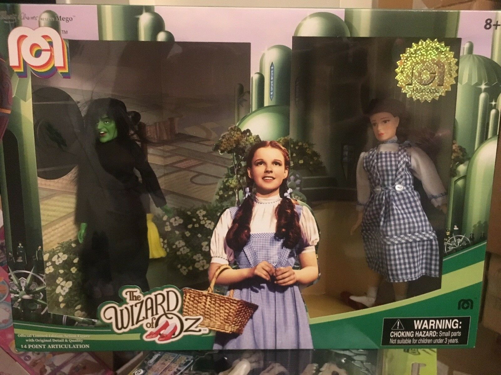 MEGO WIZARD OF OZ BOX SET TARGET EXCLUSIVE  LOW SER  100 10000