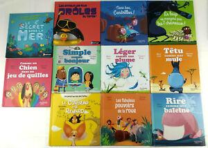 Lot-de-11-livres-pour-enfants-Nathan-Hachette-Mc-Do-Envoi-rapide-et-suivi