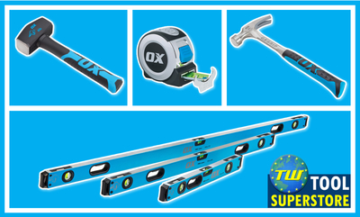 Save on Ox Tools This Christmas