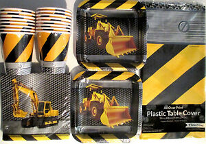 CONSTRUCTION-ZONE-Birthday-Party-Supply-Pack-Kit-Set-16