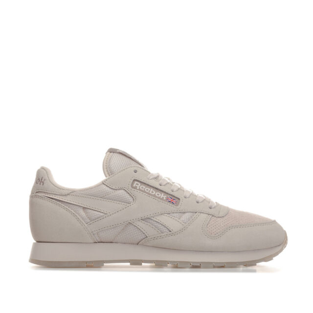 91fff240feb Mens Reebok Classic Leather Urban Descent Trainers in Stucco   Beach ...