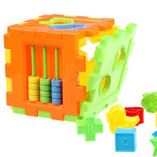 Kid Educational Play Games Animal Alphabet Block Cube Toddler Baby Toy Exotic