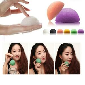 New-Konjac-Sponge-Puff-With-Added-Bamboo-Charcoal-For-Teen-Oily-Acne-Skin-U-F6H4