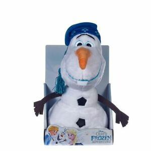 DISNEY-FROZEN-OLAF-SOFT-TOY-WITH-HAT-NEW-amp-BOXED-GIFT-QUALITY-10-034-26CM