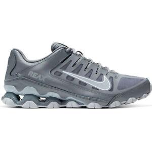 Nike-Reax-8-Tr-Mesh-Scarpe-Uomo-Allenamento-Corsa-Palestra-Sneaker-Grigio-Pelle