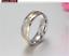 Couple-Rings-Stainless-Steel-silver-based-Gold-line-Promise-wedding-rings-gift 縮圖 3