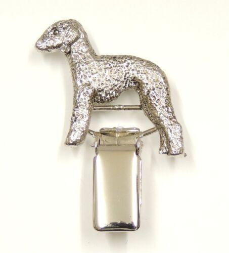 Bedlington Terrier Show Ring Clip//Number Holder