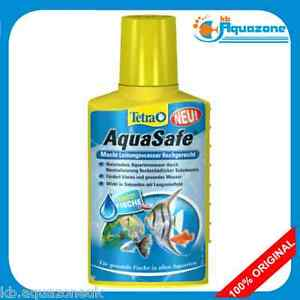 Tetra aquasafe 50ml fish tank tap safe water conditioner for How to make tap water safe for fish