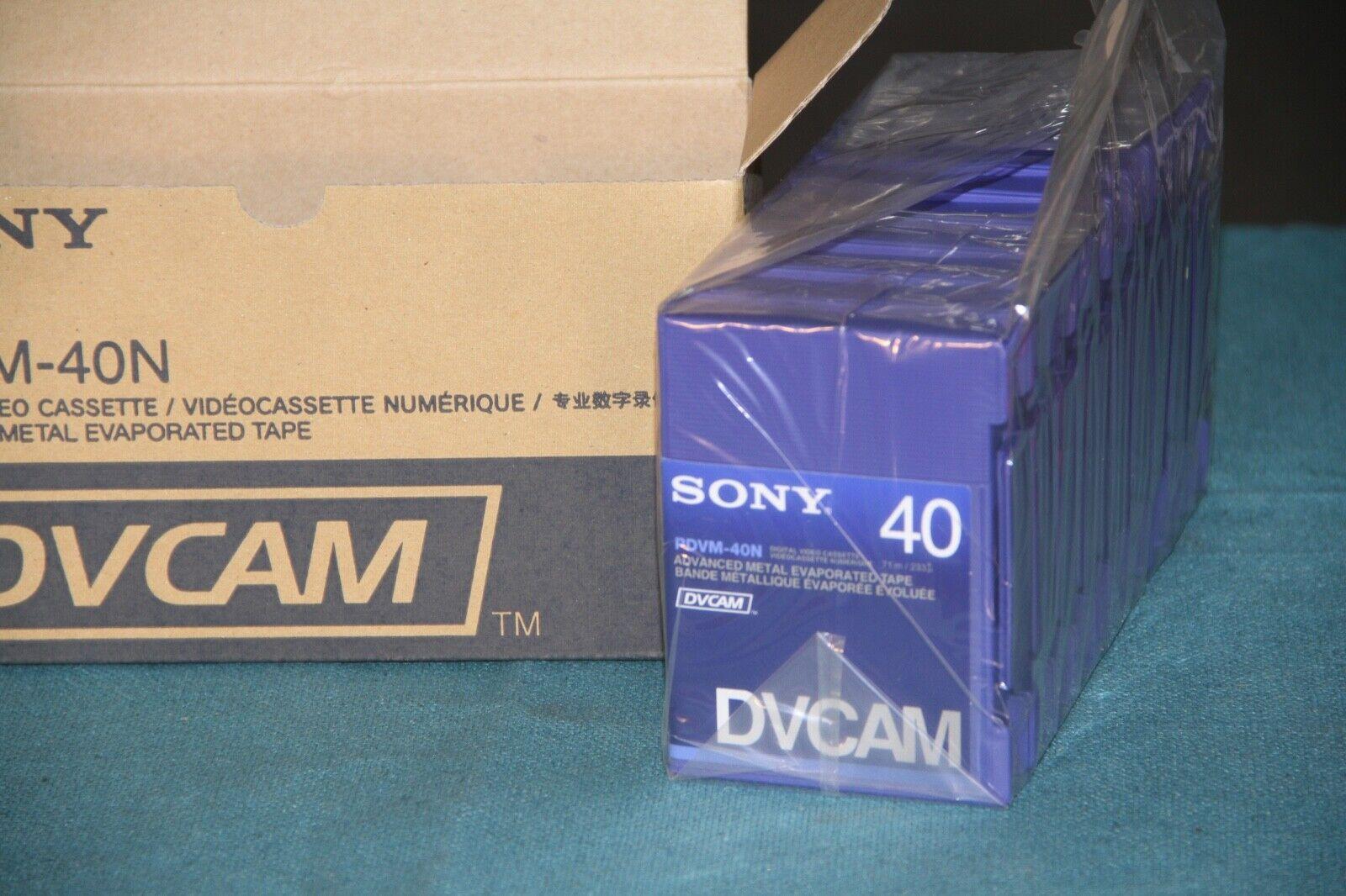 Sony DVCAM PDV-40N Video Cassette Tape - Brand New