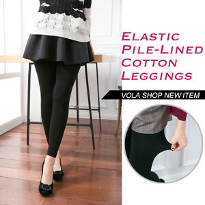 V-O-L-A-Pure-Beauty-Elastic-Pile-Lined-Cotton-Leggings-V3801-Made-in-China