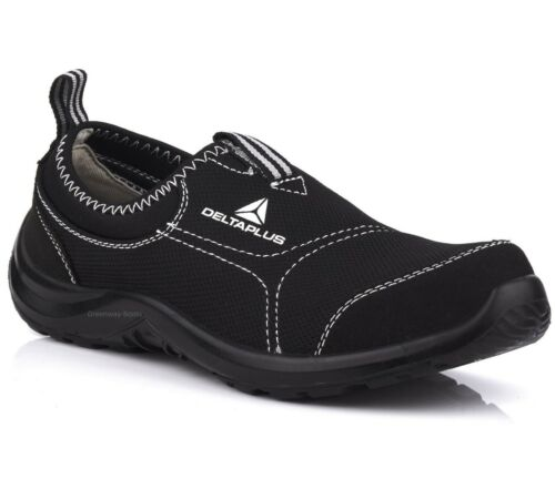 Mens Delta Plus Lightweight Steel Toe Cap Safety Work Shoes Womens Trainers Size