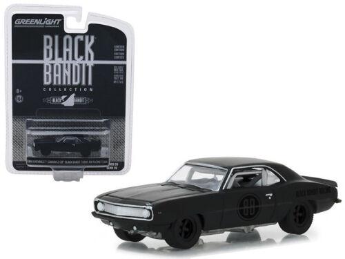 "1969 Chevrolet Camaro z//28 trans am racing /""Black Bandit GreenLight 1:64 sale"