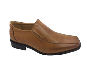 Mens-Shoes-VIP-Bruce-Tan-Distressed-Slip-On-Shoe-Size-10-or-11-Clearance-Item