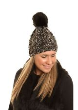 item 1 Ladies Chunky Knitted Winter Wool Hat Pom Pom Bobble Faux Fur -Ladies  Chunky Knitted Winter Wool Hat Pom Pom Bobble Faux Fur 22e99c0215a