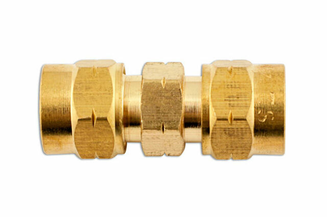 Connect 31181 Brass Straight Coupling 3//8in Pack 10
