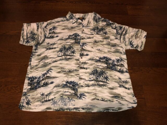 a744df5c Route 66 Hawaiian Shirt Island Palm Trees Original Clothing Co Size XL for sale  online | eBay