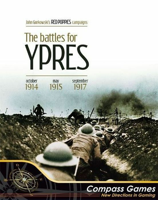 Compass Games Red Poppies Campaigns Vol 1 - The Battles for Ypres NISW Fast Ship