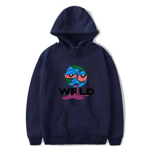 Juice Wrld Printed Kapuzenpullover Beiläufiges Sweatshirt Pullover Outwear 12094