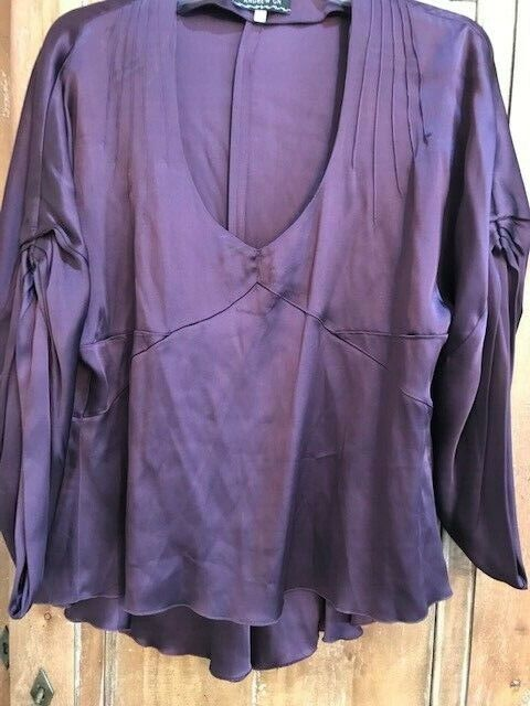Andrew GN Sz 42 lila Top - GORGEOUS