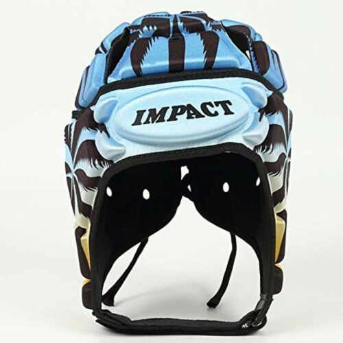Details about  /New IMPACT Rugby Head Cap Fiji Sky Mens Rugby Shock absorption Japan Impact
