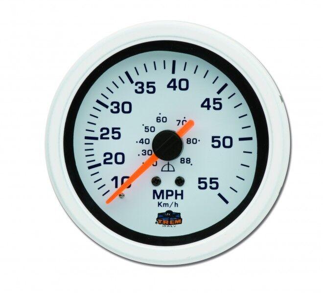 Tachometer Geschwindigkeitsmesser Einbauinstrument Tacho Instrument NEU 5076