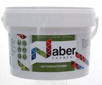 4,5 Liter - Wetterschutzfarbe - BASALTGRAU -  7,77 €/L