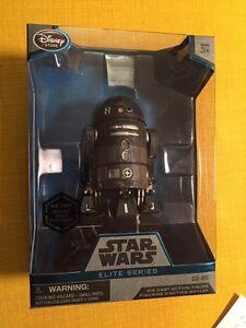 Disney Store C2-b5 Série Star Wars Elite Rogue Coulé sous pression Un Astromech Droid 643690279402