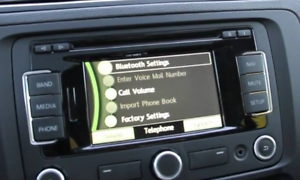 VW RNS 310 v11 2019 Amundsen Europa occidental tarjeta SD mapas skoda factura