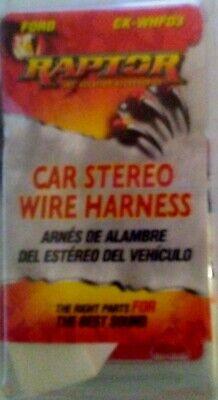 New, Raptor Car Stereo Wire Harness CK-WHFD3 Ford 86429079971 | eBayeBay