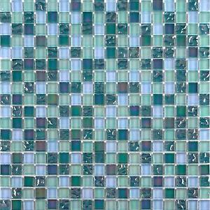 green mosaic tiles bathroom iridescent glass mosaic wall tiles bathroom lustrous green 18580
