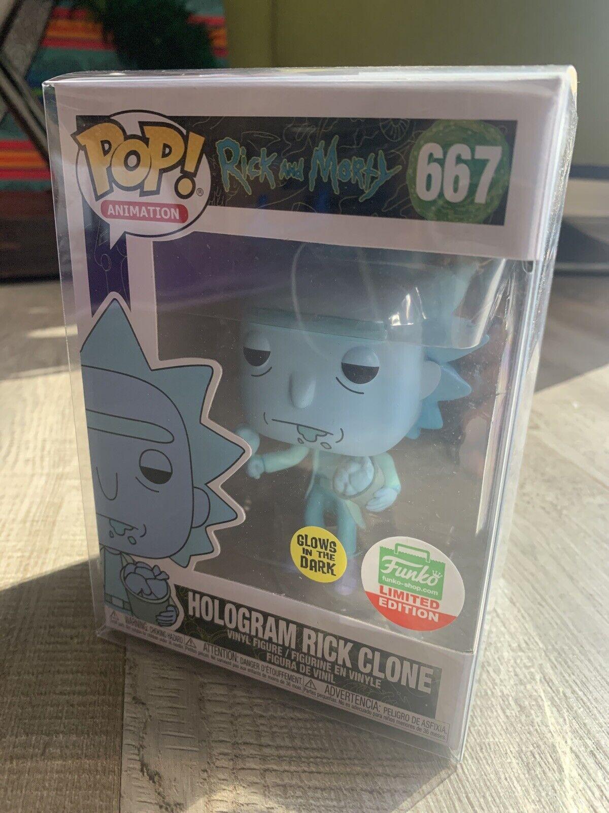 Funko Pop Keychain: Hologram Rick Clone Rick /& Morty 2019, Toy NUEVO
