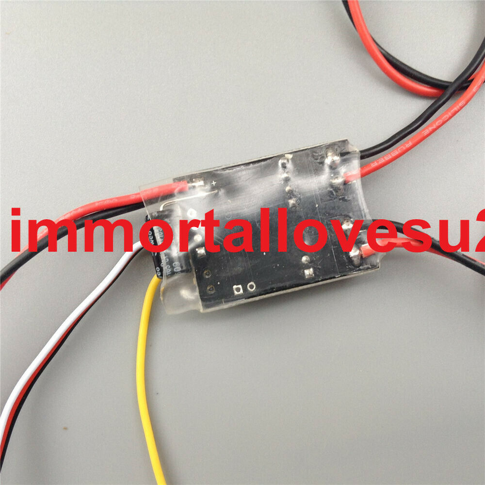 5Ax2 Brushed ESC Dual two-way Speed Controller 1:16 RC Tank Tracked 2S 3S Lipo