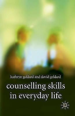 1 of 1 - Counselling Skills in Everyday Life-ExLibrary