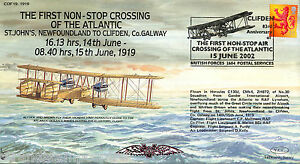 COF 19-1919 Century of Flight - The First Non-Stop Crossing Of The Atlantic