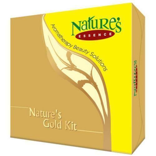 Nature's Essence Gold Facial Kit, Gives Soothing Effect on the Skin -525GM