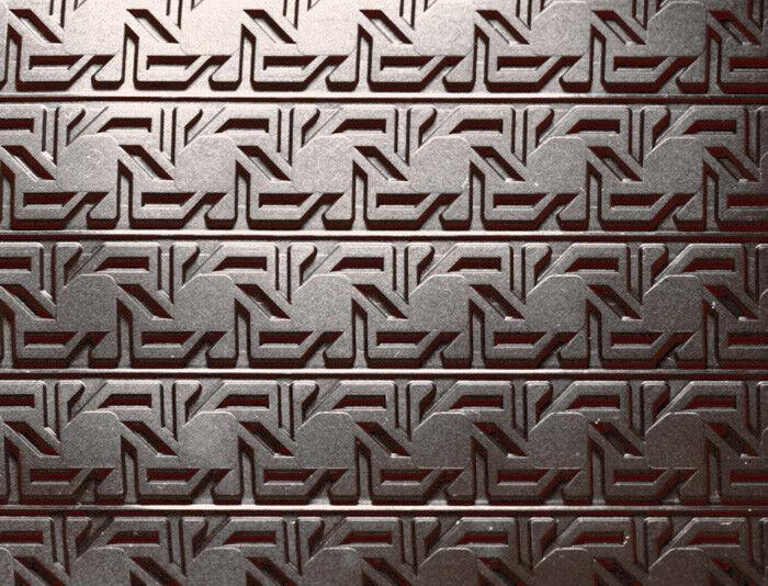 Demarle 3-D Silicone Antiadhésif Cuisson Mat, 15  X 22  Vénitien Cane Design