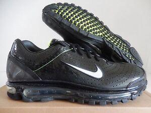 Max 2003 White Nike Black Metallic Silver Air Rare Volt 9 5 Sz OZPXuTki