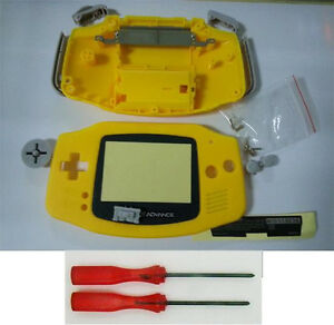 Hot Repair New Yellow Full Housing Shell Pack for Nintendo Gameboy Advance GBA