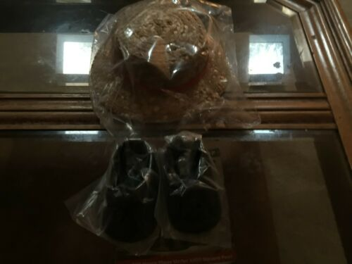 VENTRILOQUIST DUMMY MORTIMER SNEARD HAT AND SHOES
