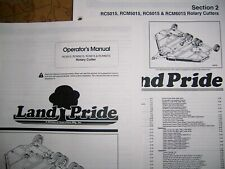 Land Pride Rotary Cutter Parts Amp Operator Manuals Rcrcm5015 Amp Rcrcm6015