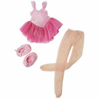 Corolle 13 Les Cheries Ballerina Set For Dolls Pink Tutu Slipper Box France