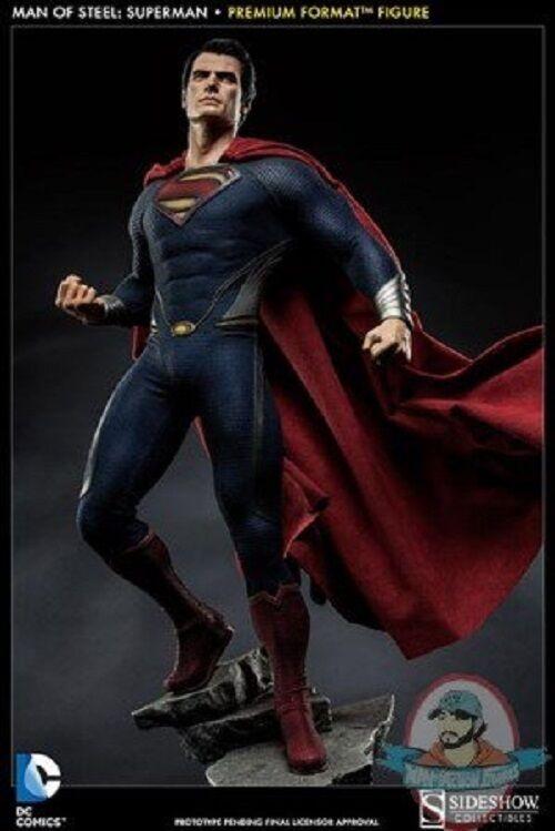 Man of Steel  Superman Premium Format Figure Sideshow Collectibles