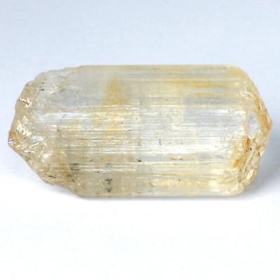 SKAPOLITH Kristall gelb aus Mozambique ca. 29 x 16 x 12mm mit Endflächen No 1705
