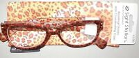 Sight Station Ladies Fun Reading Glasses Handcrafted W Coordinating Case +1.00