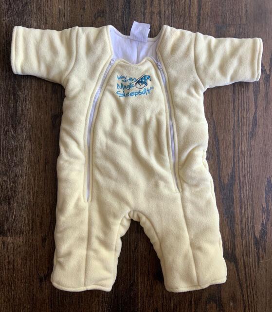Baby Merlin Magic Sleep Suit Size 6-9 Months Cream Yellow ...