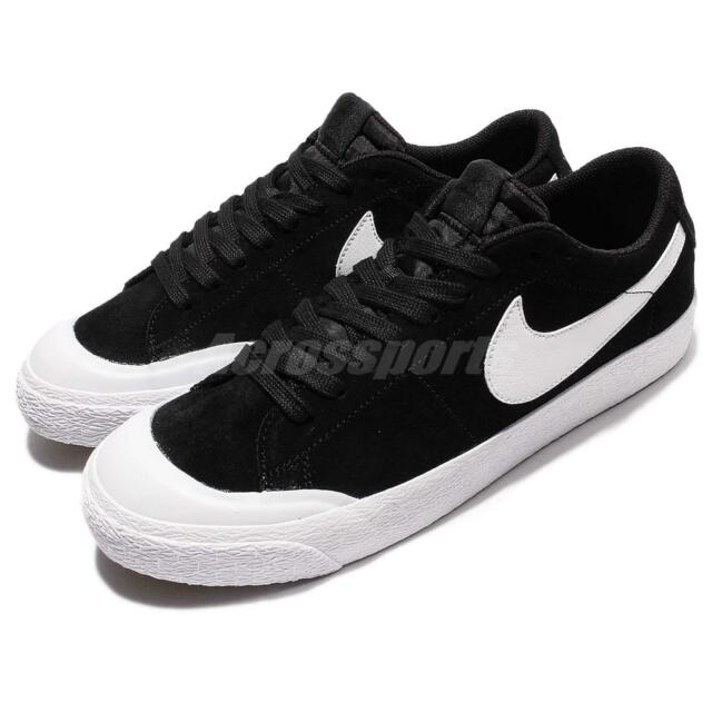 lowest price 0fb3f 82491 Nike Men's SB Blazer Zoom Low XT Black Suede Skate Shoes 9 Men US