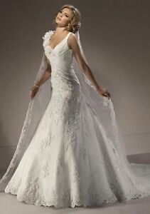 Sur Mesure Originale Elegante Robe Mariee Dentelle Et Fleurs M356 Ebay
