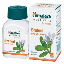 Himalaya Brahmi % Herbal Mind Wellness Potent Mental Health Improve Focus Brain