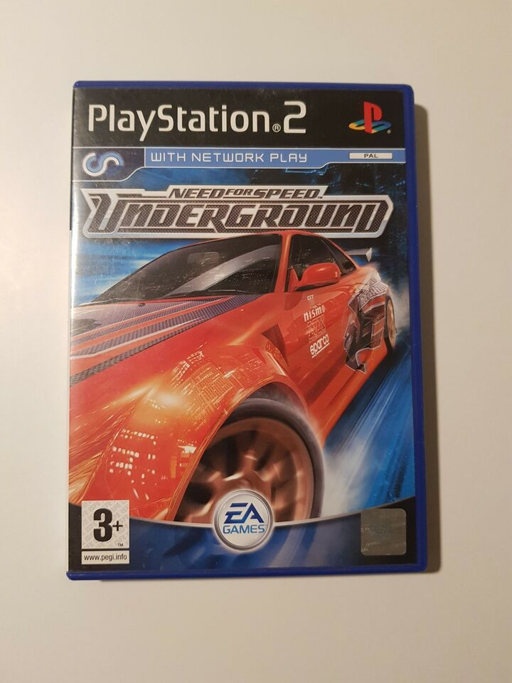 Need for speed underground, PS2